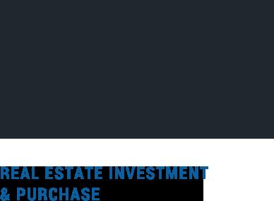 土地・不動産に精通したプロの目で、初めての方にも安心できるご提案を。 real estate investment & purchase